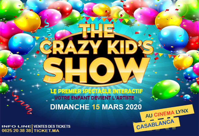 Crazy Kids show Casablanca